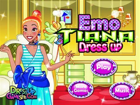 Disney Princess Tiana- Emo Tiana Dress Up- Fun Online ... Kids Games For Girls Disney Free Online