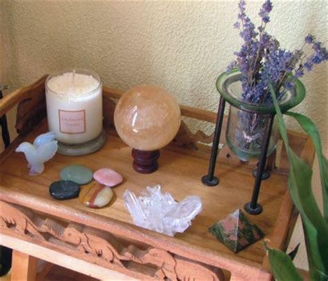 Pagan Home Decor how to build a meditation altar