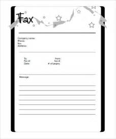 Blank Fax Cover Letter Template by Fax Cover Sheet Blank Free Cover Letter Templates