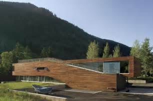 Modern House Design Mountain Home By Robbins Linear Mountain House With Southern Exposure