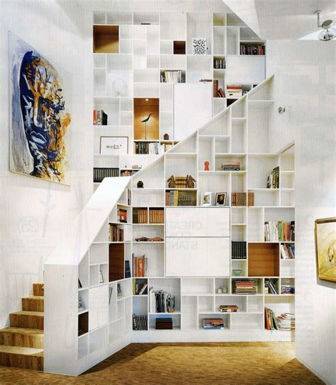 lade sospese moderne 1000 ideas about staircase storage on palm