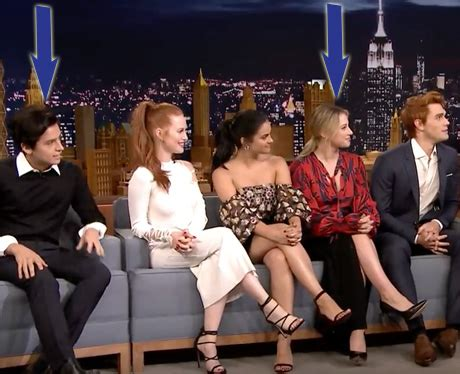 madelaine petsch on jimmy fallon you probably missed this adorable moment between riverdale