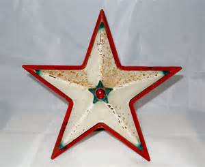 vintage tin noma star 1940 s christmas tree topper