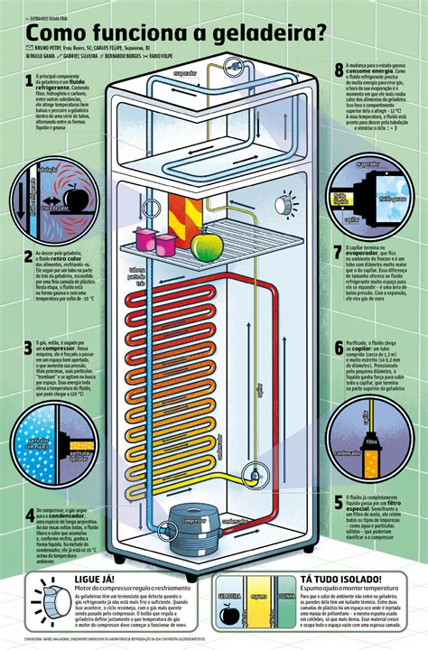 how refrigerator works diagram how does the refrigerator work visualoop