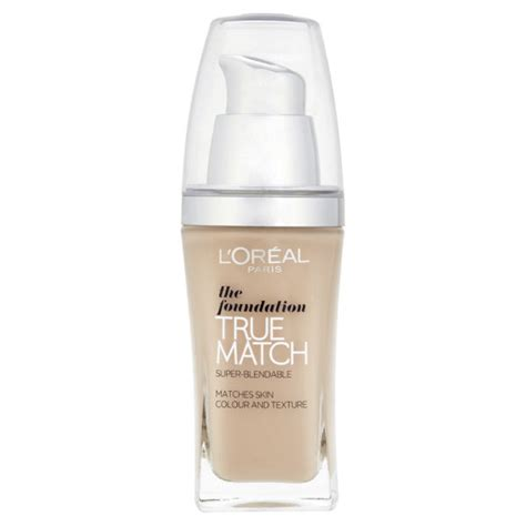 Loreal Foundation l oreal true match the foundation spf 17 various