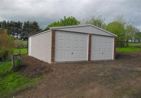 Prefab Garage Scotland by Concrete Garages Apex Garage Aberdeen