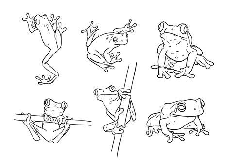 scribbled tree symbol stock vector art more images of scribble green tree frog vectors download free vector