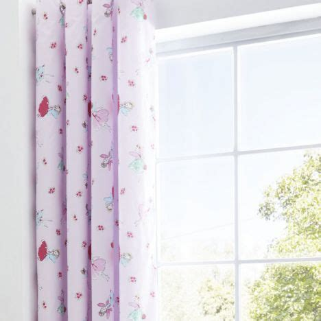 next fairy curtains fairies pink lined eyelet curtains tonys textiles