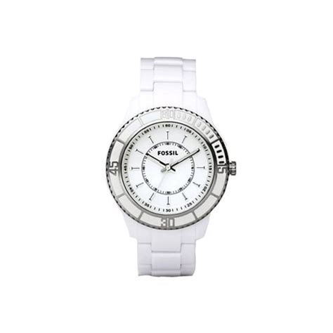 fossil es2442 white acrylic stella with
