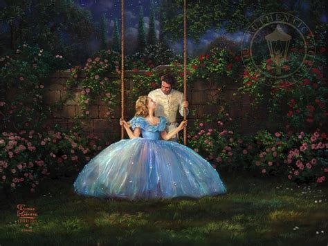 free cinderella painting dreams come true cinderella painting kinkade