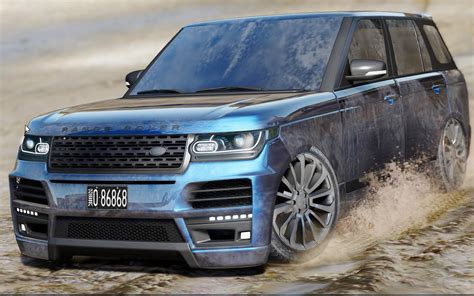 land rover mod land rover range rover startech add on replace gta5