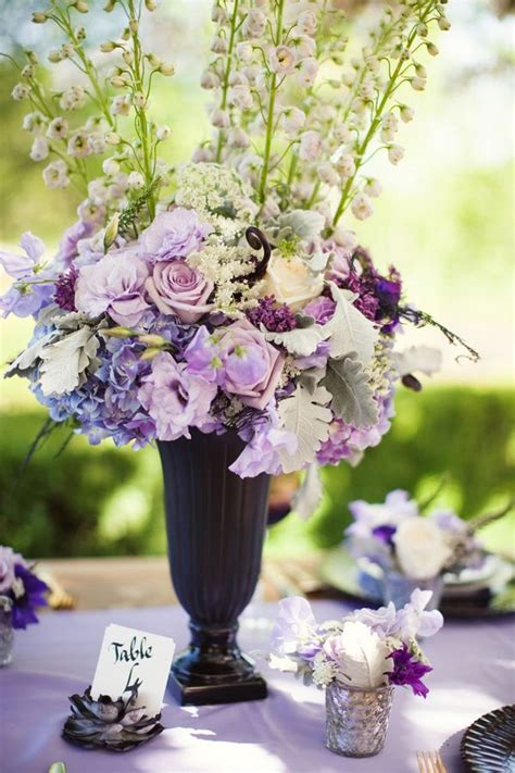 Wedding Centerpiece Purple Lavender Weddingsabeautiful Lavender Centerpieces For Weddings