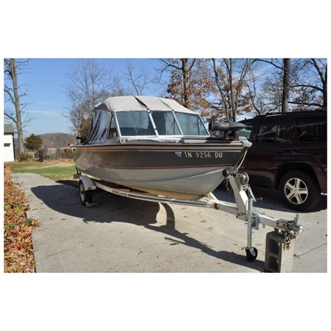 lund boats knoxville tn 1991 lund 1650 tyee ii aluminum fishing boat for sale in