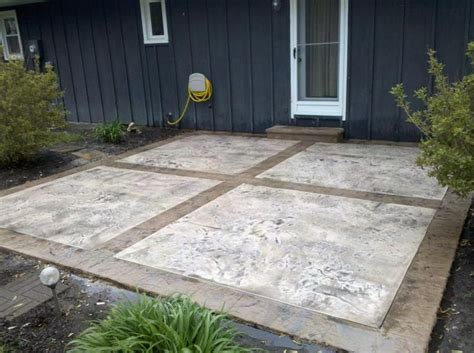 concrete patio resurfacing 55 best images about decorative concrete patios on
