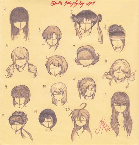 estilos de cabello en manga anime imagen 4riaz95