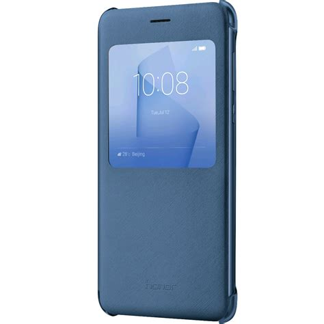 honor 8 view flip cover blue vmall official huawei honor store