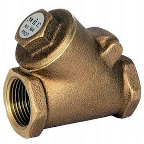 bronze swing check valve 1 1 2 quot albion art384 bronze swing check valve