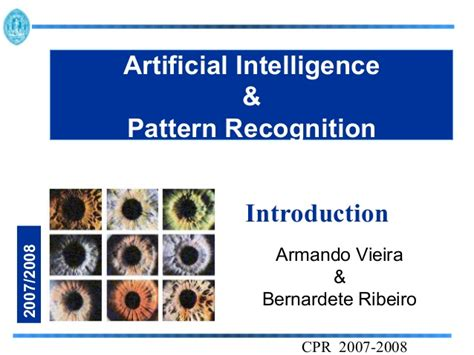 pattern in artificial intelligence pattern recognition
