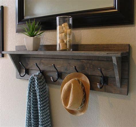 Shelf Coat Hook by Best 25 Coat Rack With Shelf Ideas On Coat