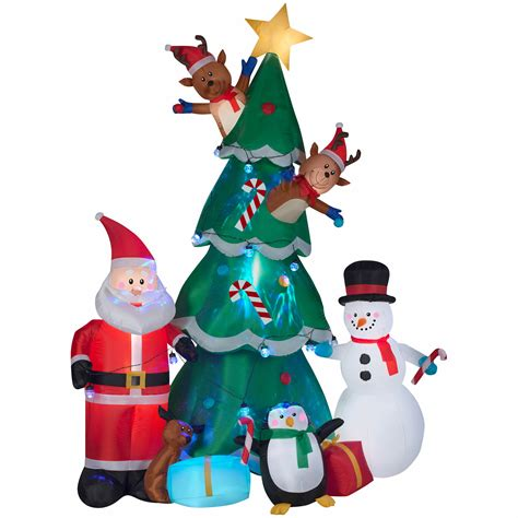 bjs christmas decoration gemmy animated tree bj s wholesale club