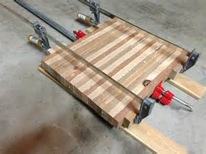 diy butcher block cutting board tutorial the rodimels how to build a child s kitchen prep station how tos diy