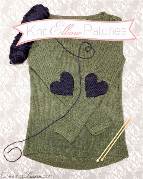 the knitting patch creating patch knitting pattern
