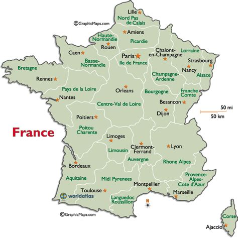 printable maps france map of france to print 187 travel