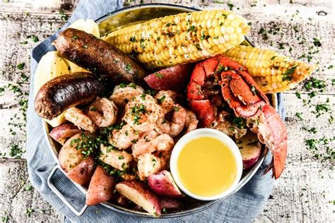 Backyard Party Menu Ideas Backyard Seafood Boil Recipe Home Chef