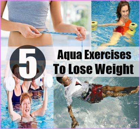 aqua exercises  weight loss latestfashiontipscom