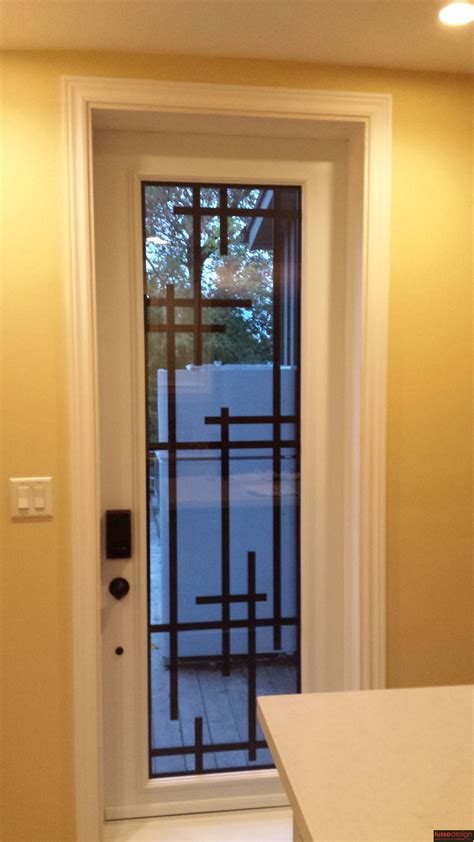 metal door designs single 8ft tall steel door with modern design lasercut