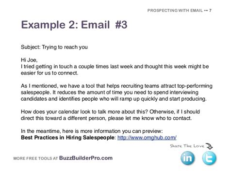 Cold Emailing Templates For Prospecting Last Call Email Template