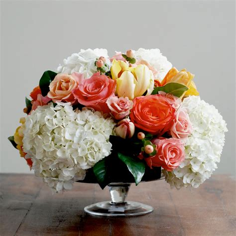 Flower Centerpieces by Floral Design 101 The Sweetest Occasion