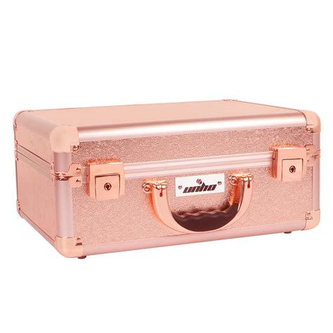 travel vanity case with lights pro portable lighted cosmetic make up travel train case