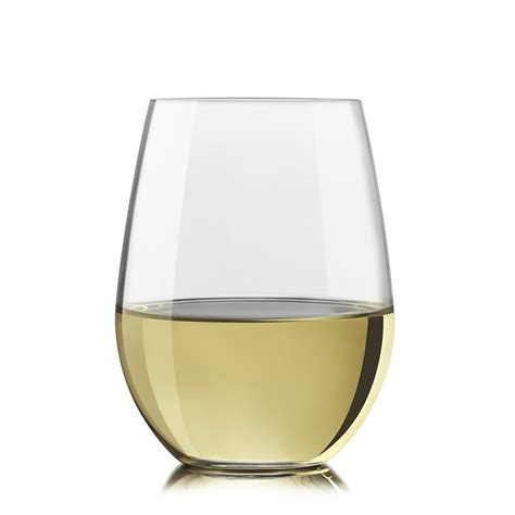 stemless wine glasses 17 oz stemless white wine glass set of 2 183 the
