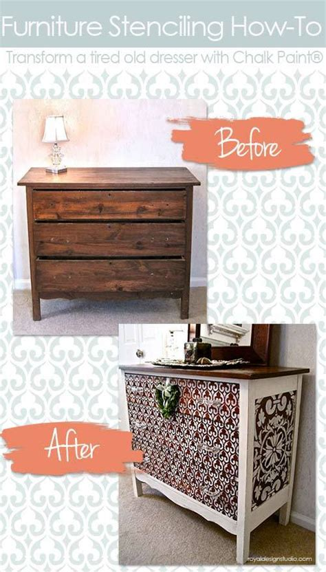 chalk paint not sticking to wood how to stencil wood furniture with chalk paint 174 decorative