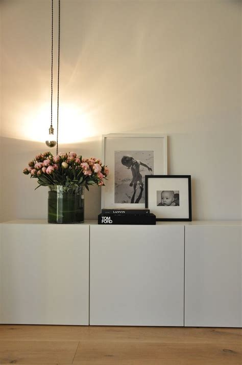 picture of simple ikea besta storage unit