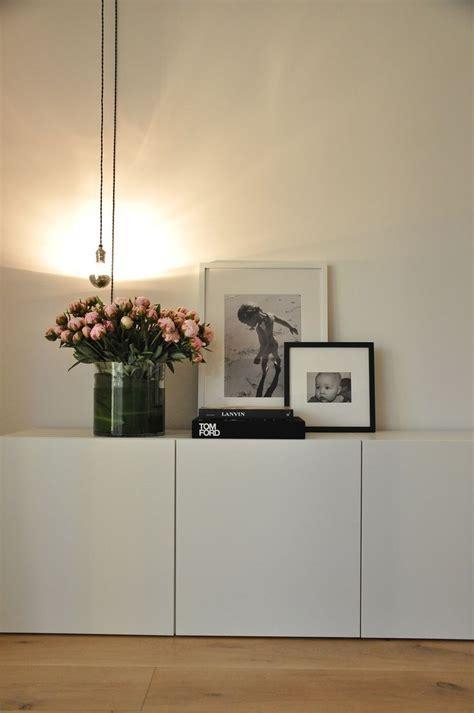 Picture Of Simple IKEA Besta storage unit