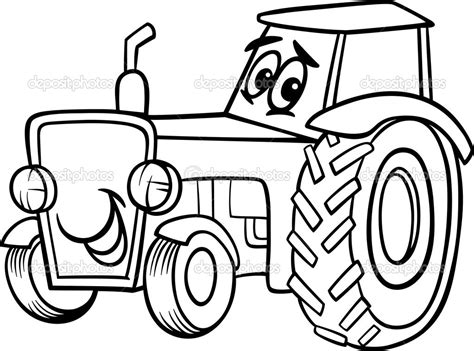 happy birthday tractor coloring pages trator para colorir trator para colorir