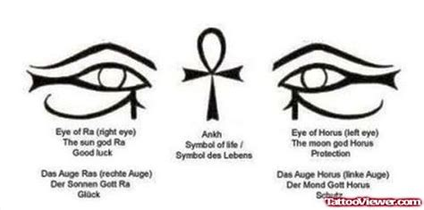 ankh and egyptian eyes tattoos design tattoo viewer com