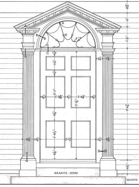 Architectural Interior Doors Neo Classical Style Georgian 1720 1830 Door Architecture Design Style Pinterest