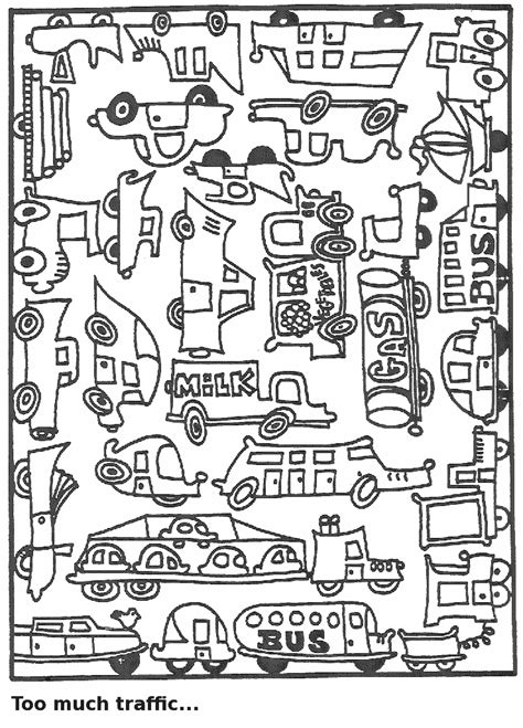 printable road safety colouring sheets this coloring page for kids features a wide range of