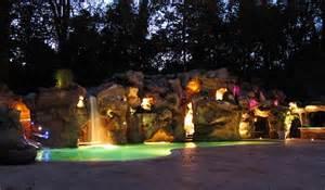Custom Bungalow Floor Plans breathtaking pool waterfall design ideas