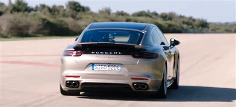 Porsche Panamera Turbo S Sound by 2018 Porsche Panamera Turbo S E Hybrid Acceleration Launch