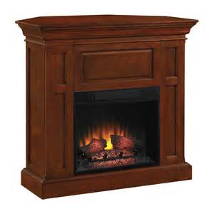 shop chimney free 42 in w 4 600 btu cherry electric