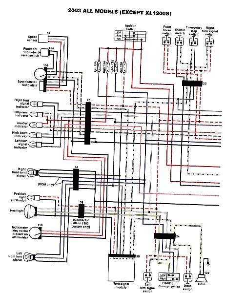 harley sportster wiring diagram 250 wiring diagram