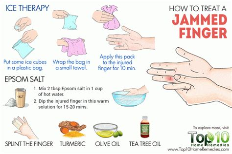 how to finger how to treat a jammed finger top 10 home remedies