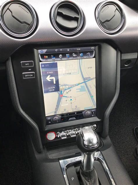 vertical screen android radio  ford mustang