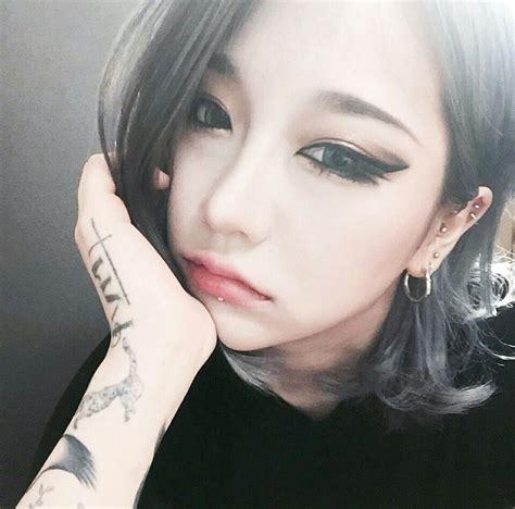 korean girl tattoo ulzzang ulzzang pinterest ulzzang