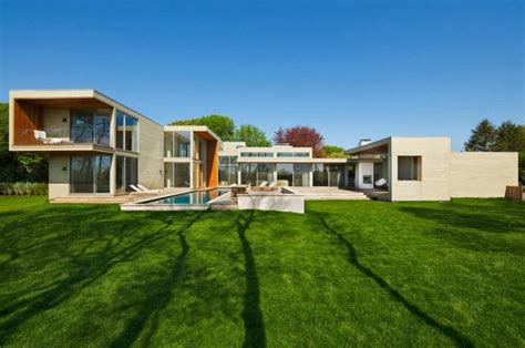 big modern house big modern house with agricultural reserve views