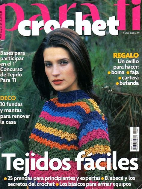 revistas de crochet en espanol 88 best revista de costura y otras espa 241 ol images on